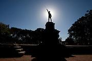 Porto Alegre_RS, Brasil...Praca Padre Tome em Porto Alegre, Rio Grande do Sul...Padre Tome square in Porto Alegre, Rio Grande do Sul...Foto: MARCUS DESIMONI / NITRO
