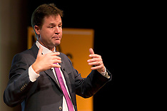 Deputy Prime Minister Nick Clegg at a Q&A 13-9-12