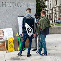 Windrush demo protest;<br />