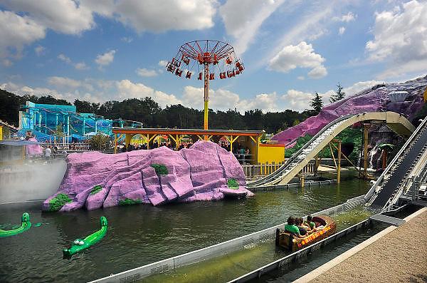 Duitsland, Bottrop, 17-7-2009Het themapretpark Movie Park, movie world.Foto: Flip Franssen/Hollandse Hoogte