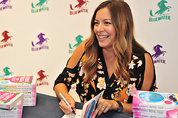 © Licensed to London News Pictures. 20/08/2016<br /> Zoella book club author Amy Alward signing copies of  her new book  The Potion Dairies at WHSmiths in Bluewater,Greenhithe,Kent.<br /> (Byline:Grant Falvey/LNP)