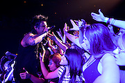 Photos of hard rock group Papa Roach performing at the Pageant in St. Louis on October 19, 2010.