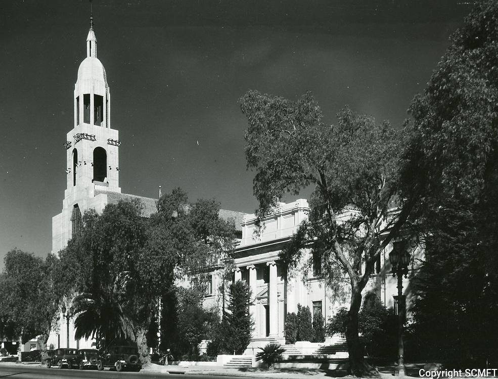 1934 Blessed Sacrament Church on Sunset Blvd.