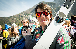 Urban Jarc after the Ski Flying Hill Men's Team Competition at Day 3 of FIS Ski Jumping World Cup Final 2017, on March 25, 2017 in Planica, Slovenia. Photo by Vid Ponikvar / Sportida