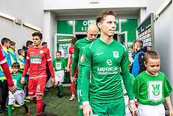 Savic Stefan of NK Olimpija Ljubljana during football match between NK Olimpija Ljubljana and NK Aluminij in Round #27 of Prva liga Telekom Slovenije 2018/19, on April 14th, 2019 in Stadium Stozice, Slovenia Photo by Matic Ritonja / Sportida
