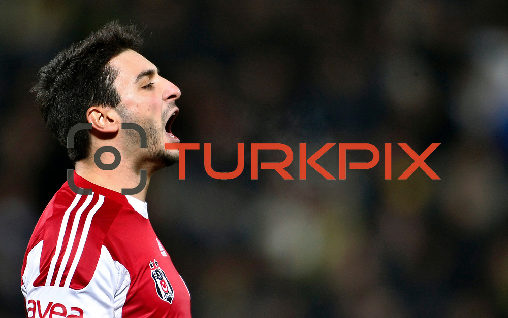 Besiktas's goalkeeper Cenk Gonen during their Turkish Superleague soccer match Ankaragucu between Besiktas at the 19 Mayis stadium in Ankara Turkey on Sunday 08 January 2012. Photo by TURKPIX