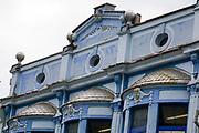 Facade of a building in Plovdiv, Bulgaria