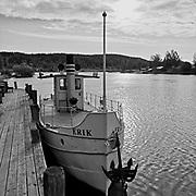 """Erik"" i Dalälven vid Leksand.<br /> PHOTO © Bernt Lindgren"