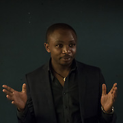 """Olivier Nsengimana of the Rwanda Wildlife Conservation Society """"Conserving Rwanda's emblematic grey crowned crane"""" Winner of the Whitley Award donated by Arcus Foundation outstanding efforts to protect some of the world's most endangered animals and their habitat from Pooches, trophy hunting, medicine and food consumption. the goal for Whitley Fund for Nature is to reach the mind of the people and politicians on 26 April 2018 at Library in  London, UK."""