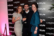 Emily Dean Alexandre Choueiri; Eilidh MacAskill, InStyle's Best Of British Talent Party in association with Lancome. Shoreditch HouseLondon. 25 January 2011, -DO NOT ARCHIVE-© Copyright Photograph by Dafydd Jones. 248 Clapham Rd. London SW9 0PZ. Tel 0207 820 0771. www.dafjones.com.