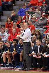 09 December 2017:  Matt McMahon during a College mens basketball game between the Murray State Racers and Illinois State Redbirds in  Redbird Arena, Normal IL