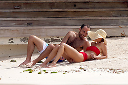 James Middleton and fiancee Alizee Thevenet take a beach stroll in St Barts. 02 Jan 2020 Pictured: James Middleton and fiancee Alizee Thevenet look very in love at Eden Rock beach during holiday season in St-Barts. Photo credit: EliotPress / MEGA TheMegaAgency.com +1 888 505 6342