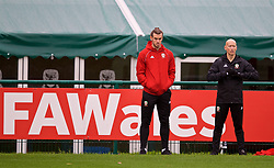 CARDIFF, WALES - Sunday, October 14, 2018: Wales' Gareth Bale during a training session at the Vale Resort ahead of the UEFA Nations League Group Stage League B Group 4 match between Republic of Ireland and Wales. (Pic by David Rawcliffe/Propaganda)