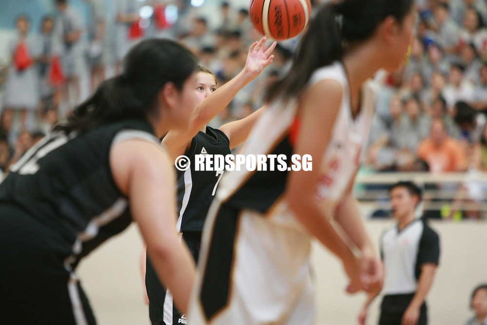 Republic Polytechnic, Thursday, August 25, 2016 — Singapore Chinese Girls' School (SCGS) defeated defending champions Jurong Secondary 64-44 to win the National C Division Girls Basketball Championship.
