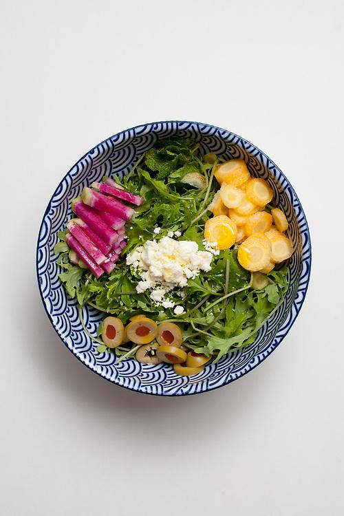 Feta & Kale Salad from the fridge (m€)