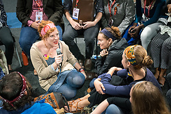 The International AIDS Conference 2016 is attended by a large group of Lutheran Church young adults from the United States of America.