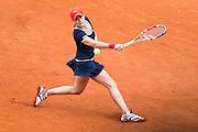 Paris, France. Roland Garros. June 1st 2013.<br /> French player Alize CORNET against Victoria AZARENKA