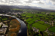An aerial photo of Killorglin Town.<br /> Photo Don MacMonagle