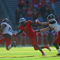 Defensive back Gareef Glashen #2 of Rutgers tries to chase down a receiver during American Athletic Conference Football action between Rutgers and Cincinnati on Nov. 16, 2013 at High Point Solutions Stadium in Piscataway, New Jersey.