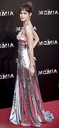 May 29, 2017 - Madrid, Spain - Sofia Boutella attends 'The Mummy' premiere at Callao Cinema on May 29, 2017 in Madrid, Spain. (Credit Image: © Coolmedia/NurPhoto via ZUMA Press)