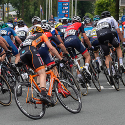 VELDHOVEN (NED) July 4 <br /> CYCLING <br /> The first race of the Schwalbe Topcompetition the Simac Omloop der Kempen<br /> Peloton
