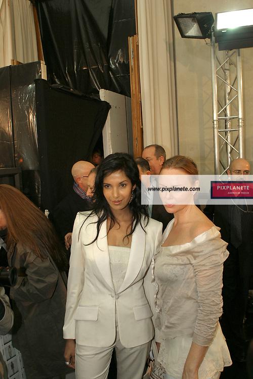 Prêt à porter Printemps / été 2005 Collection Stella Mc Cartney. Backstage / PixPlanete
