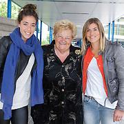 NLD/Amsterdam/20120713 - Lancering Sportglossy Londen, Naomie van As, Erica terpstra en Kim Lammers