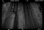 Hogesnelheids trein Thalys op Antwerpen Centraal station