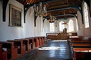 Church interior, Zuiderzee museum, Enkhuizen, Netherlands
