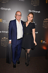 Touker Suleyman and Francesca Dutton at the Debrett's 500 Party recognising Britain's 500 most influential people, held at BAFTA, 195 Piccadilly, London England. 23 January 2017.<br /> No UK magazines - contact www.silverhubmedia.com