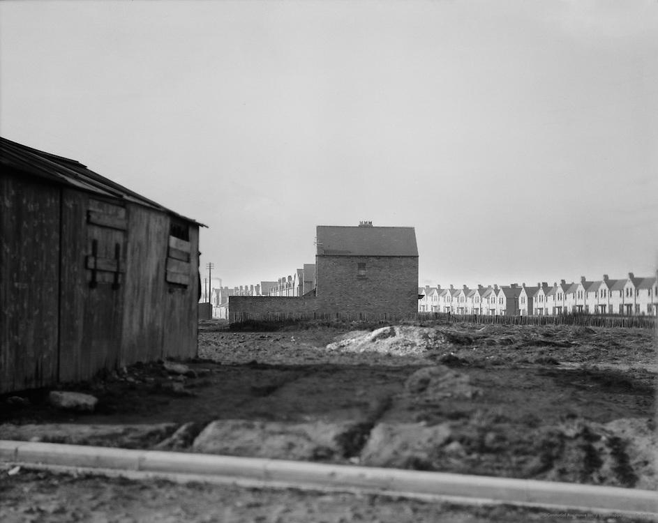 Buildings, Ellingham Colliery, England, 1928