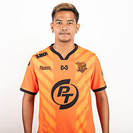 THAILAND - JUNE 24: Kitphom Bunsan #29 of PT Prachuap FC on June 24, 2019.<br /> .<br /> .<br /> .<br /> (Photo by: Naratip Golf Srisupab/SEALs Sports Images/MB Media Solutions)