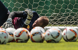 07.07.2015, Steinbergstadion, Leogang, AUT, Trainingslager, RB Leipzig, im Bild Peter Gulacsi (RB Leipzig) // during the Trainingscamp of German 2nd Bundesliga Club RB Leipzig at the Steinbergstadium in Leogang, Austria on 2015/07/07. EXPA Pictures © 2015, PhotoCredit: EXPA/ JFK
