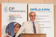 Martin Rosenberg, editor-in-chief of EnergyBiz, speaking to an audience of GP Strategies attendees at the 2012 GPiLEARN & EtaPro Users Conference in Tempe, Arizona.