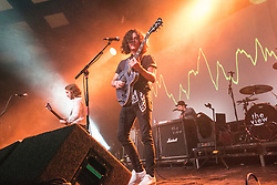 Singer Kyle Falconer, Kieren Webster, Pete Reilly and Steven Morrison of The View, onstage 16/9/2016 at Glasgow's  Barrowland Ballroom