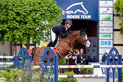 BRINKMANN Markus (GER), Light Fly Lady<br /> Hagen - Horses and Dreams 2019<br /> Preis der Pott´s Brauerei GmbH CSI2*<br /> Finale Mittlere Tour<br /> 28. April 2019<br /> © www.sportfotos-lafrentz.de/Stefan Lafrentz