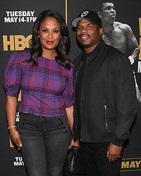 May 8, 2019 - Los Angeles, California, USA - 08, May 2019 - Pasadena, California. Laila Ali and Curtis Conway attends 'What's My Name | Muhammad Ali' HBO Documentary Premiere at Regal Cinemas LA LIVE 14 in Los Angeles, California. (Credit Image: © Billy Bennight/ZUMA Wire)