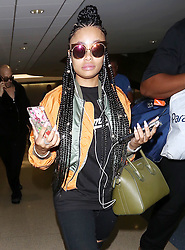Blac Chyna arrives at the Los Angeles International Airport. 06 Aug 2017 Pictured: Blac Chyna. Photo credit: MEGA TheMegaAgency.com +1 888 505 6342