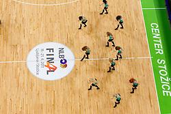 Dragon Ladies during second semi-final match of Basketball NLB League at Final four tournament between KK Union Olimpija and Krka (SLO), on April 19, 2011 in Arena Stozice, Ljubljana, Slovenia. Union Olimpija defeated Krka 67-57. (Photo By Vid Ponikvar / Sportida.com)
