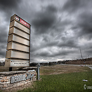 The failed-before-it-opened Merriam Village suburban shopping center in Merriam Kansas, a suburb of Kansas City MO. They overbuilt their suburban retail just as the economy turned sour.