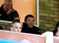Photo: Leigh Quinnell.<br /> Cheltenham Town v Colchester United. LDV Vans Trophy.<br /> 24/01/2006. Newcastle manager Graham Souness watches the game.