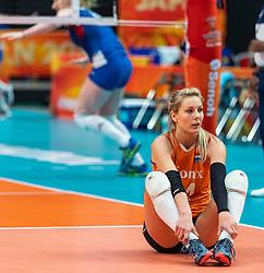 19-10-2018 JPN: Semi Final World Championship Volleyball Women day 20, Yokohama<br /> Serbia - Netherlands / Laura Dijkema #14 of Netherlands
