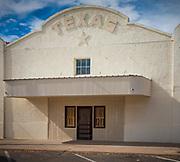 Building in Marfa, Texas