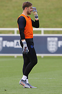 England goalkeeper Jack Butland during the training session for England at St George's Park National Football Centre, Burton-Upon-Trent, United Kingdom on 28 May 2019.