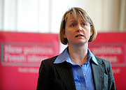 ©London News pictures. 03.03..2011. Yvette Cooper as part of Labour's 'New Politics Fresh Ideas' campaign speaks to member of the public in Reading today (03/03/11). The campaign is part of the biggest review of Labour Party policy for nearly 20 years. Members of the public come along and discuss their concerns/ hopes/ ideas and it all gets fed into a Labour policy review.. Picture Credit should read Stephen Simpson/LNP