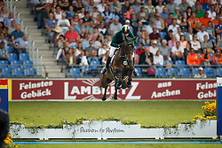 Broderick Greg Patrick, (IRL), Mhs Going Global<br /> Team completion and 2nd individual qualifier<br /> FEI European Championships - Aachen 2015<br /> © Hippo Foto - Dirk Caremans<br /> 20/08/15