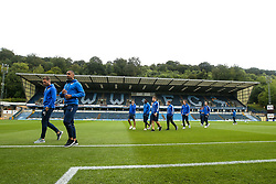 Bristol Rovers arrive at Adams Park for the Sky Bet League One fixture against Wycombe Wanderers  - Mandatory by-line: Robbie Stephenson/JMP - 18/08/2018 - FOOTBALL - Adam's Park - High Wycombe, England - Wycombe Wanderers v Bristol Rovers - Sky Bet League One