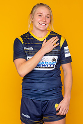 Alex Matthews of Worcester Warriors - Mandatory by-line: Robbie Stephenson/JMP - 27/10/2020 - RUGBY - Sixways Stadium - Worcester, England - Worcester Warriors Women Headshots