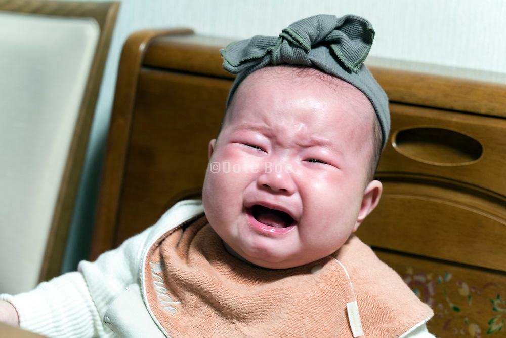 crying Japanese toddler
