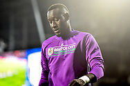 Bristol City striker Famara Diedhiou (9) during the EFL Sky Bet Championship match between West Bromwich Albion and Bristol City at The Hawthorns, West Bromwich, England on 18 September 2018.